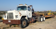 Truck Tractor/Lowboy Trailer